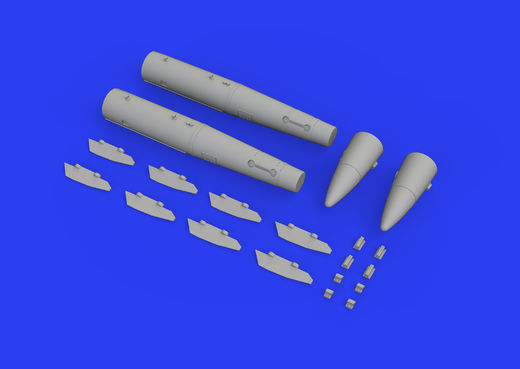B43-1 Nuclear Weapon w/ SC43-3/-6 tail assembly 1/48