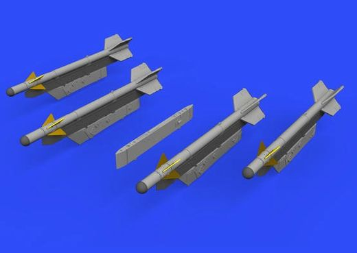 R-3S missiles w/ pylons for MiG-21  1/72  EDUARD