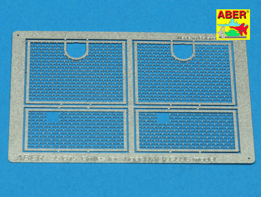 Grilles for Pz.Kpfw.VI Tiger I Sd.Kfz.181 (AFV Club) 1/35