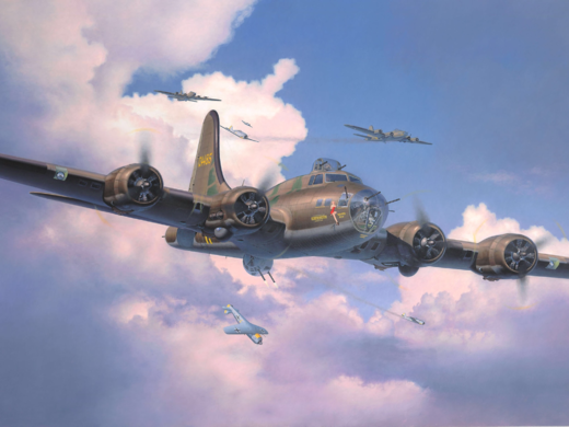 Boeing B-17F Flying Fortress 'Memphis Belle'  1/48