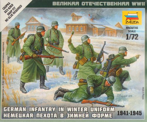 German Infantry (Winter Uniform) - 5 fig. 1/72