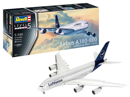 "Airbus A380 Lufthansa ""new livery"" 1/144"