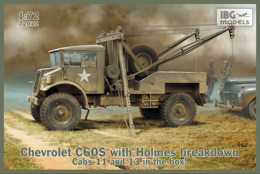 Chevrolet C60S with Holmes breakdown 1/72