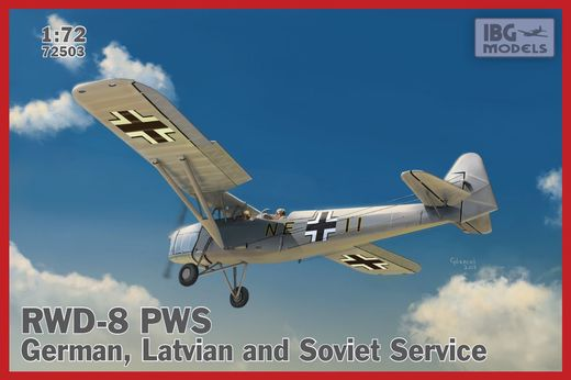 RWD-8 PWS in German, Latvian and Soviet service 1/72