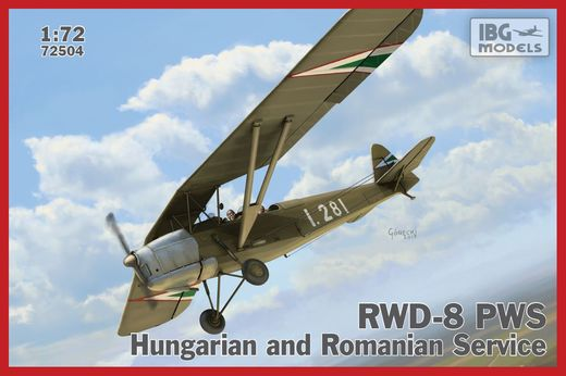 RWD-8 PWS in Hungarian and Romanian service 1/72