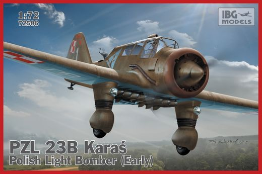 PZL 23B Karas (early) Polish Light Bomber 1/72