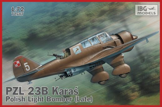 PZL 23B Karas (late) Polish Light Bomber 1/72