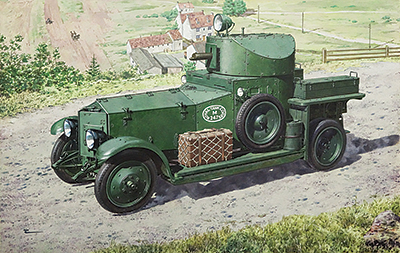 British Armoured Car (Pattern 1920 Mk.I) 1/72