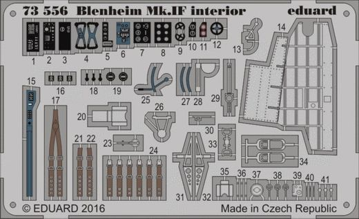 Blenheim Mk.IF interior 1/72 AIRFIX