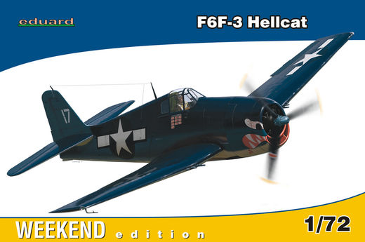 Grumman F6F-3 Hellcat WEEKEND 1/72