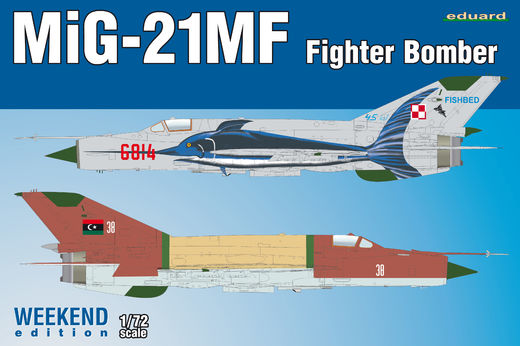 Mikoyan MiG-21MF Fighter-Bomber WEEKEND 1/72