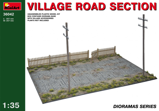 Village road section 1/35