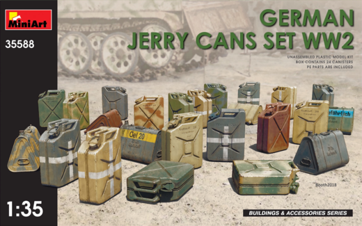 German jerry cans set WW2 1/35