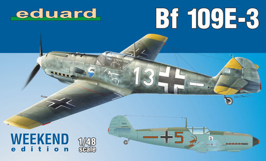 Bf 109E-3 1/48 Weekend edition