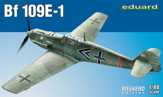 Bf 109E-1 1/48  Weekend edition