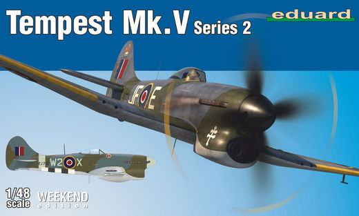 Tempest Mk.V ser. 2 1/48  Weekend edition