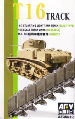 TRACKS M3/M5 RUBBER 1/35