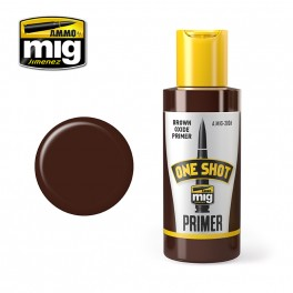 ONE SHOT PRIMER - BROWN OXIDE PRIMER - akryyli