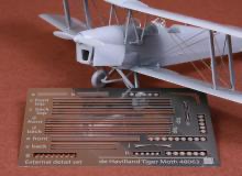 De Havilland DH-82 Tiger Moth rigging wire set for Airfix 1/48