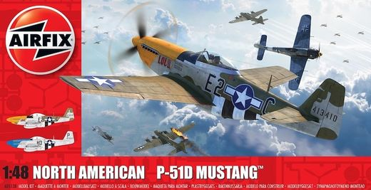 North American P-51D Mustang (Filletless Tails) 1/48