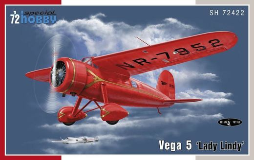 "Vega 5 ""Lady Lindy"" 1/72"