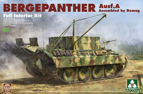 Bergepanther Ausf.A Full Interior Kit  1/35