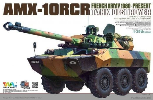 French AMX-10RCR Tank destroyer 1/35