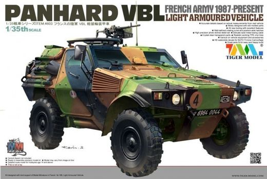 French Panhard VBL Light Armored Vehicle 1/35