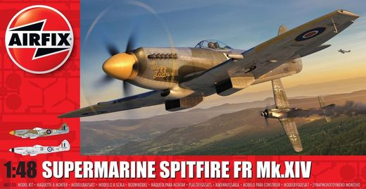 Supermarine Spitfire FR Mk.XIV 1/48 - UUSI MUOTTI - NEW MOULD