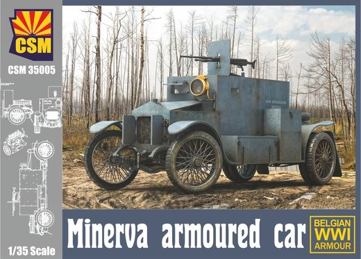 Minerva Armoured Car 1/35