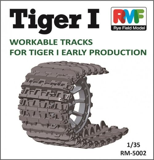 Workable Tracks for Panzer VI Tiger I Early 1/35