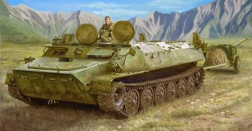 Soviet MT-LB armoured towing vehicle 1/35