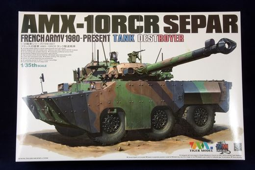 French AMX-10RCR Separ tank destroyer 1/35