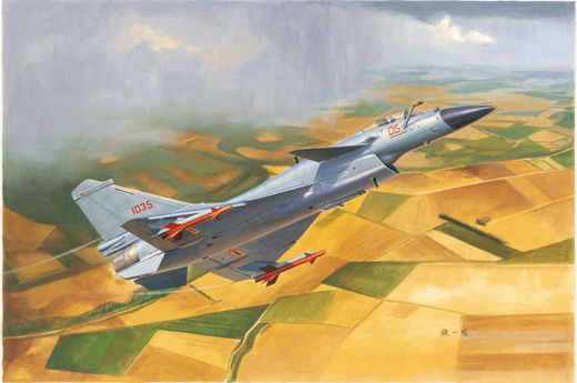 Chinese Chengdu J-10B fighter 1/72