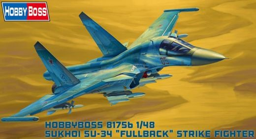Sukhoi Su-34 Fullback Fighter-Bomber 1/48