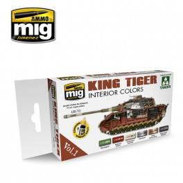 KING TIGER INTERIOR COLOR (SPECIAL TAKOM EDITION) VOL.1