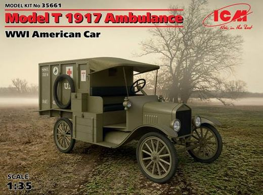 Ford Model T 1917 Ambulance 1/35