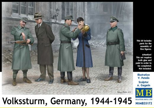 Volkssturm, Germany, 1944-1945 1/35