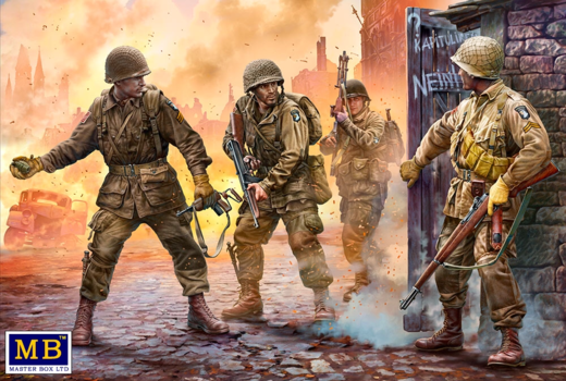 US Screaming Eagles, 101st Airborne, Europe, 1944-1945  1/35