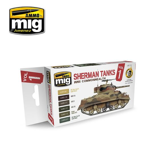 WWII COMMONWEALTH SHERMAN TANKS