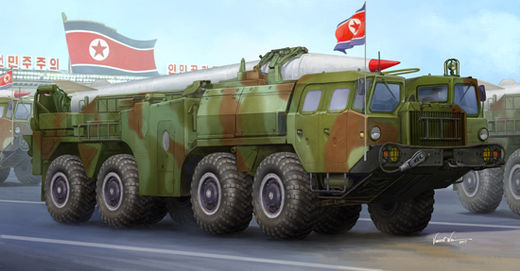 DPRK North Korea Hwasong-5 short-range tactical ballistic missile 1/35