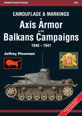 Axis Armor in the Balkans Campaigns 1940-1941