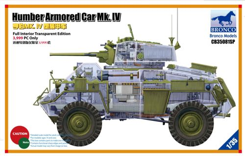 Humber Armored Car Mk.IV (Limited Editio 3,999 Only) 1:35