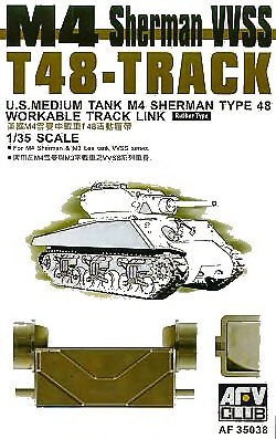 T-48 SHERMAN TRACKS (ARTICULATED) 1/35
