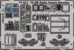 AV-8B Harrier II Night interior S.A. TRU
