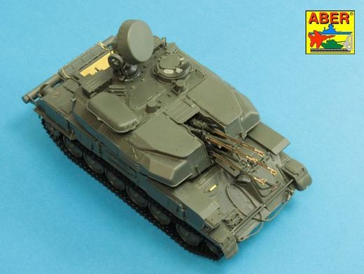 Barrels for Russian ZSU-23-4 Shilka Self-propelled AA gun 1/35 Meng; Dragon