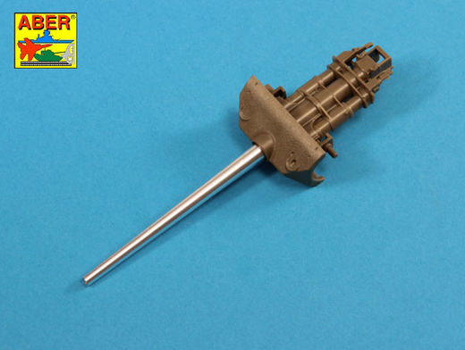 U.S. 76,2 mm M7 gun Barrel for M10 Tank Destroyer 1/35 Tamiya