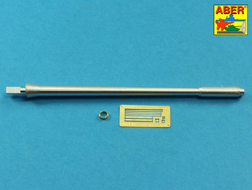 Russian D-10T 100mm tank barrel for T-54/T-55 1/35 Takom model