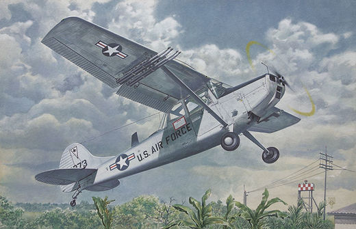 Cessna L-19/O-1 Bird Dog 1/48