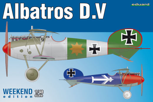 Albatros D.V WEEKEND 1/48